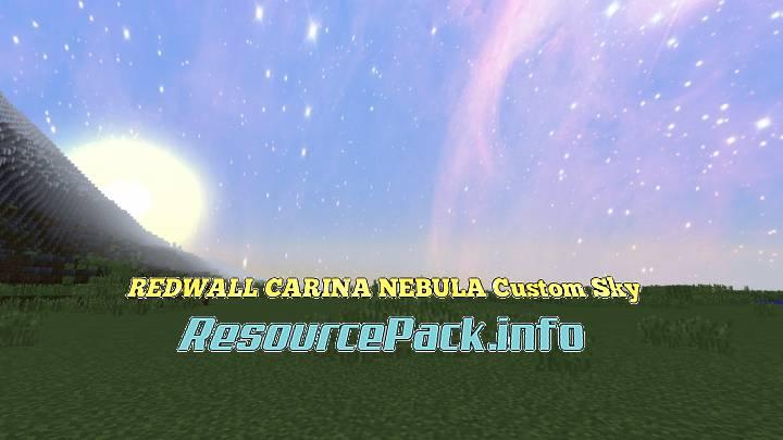 REDWALL CARINA NEBULA Custom Sky 1.15.2