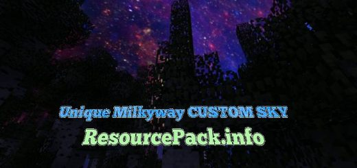 Unique Milkyway CUSTOM SKY 1.15.2