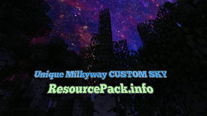 Unique Milkyway CUSTOM SKY 1.17.1