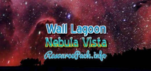 WALL LAGOON NEBULA VISTA Custom Sky 1.16.5