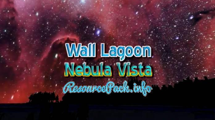 WALL LAGOON NEBULA VISTA Custom Sky 1.15.2
