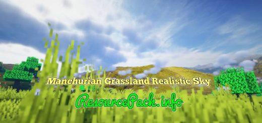 Manchurian Grassland Realistic Sky 1.16.5