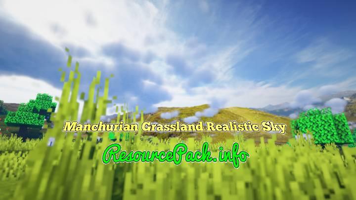 Manchurian Grassland Realistic Sky 1.16