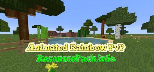 Animated Rainbow PvP 1.17.1