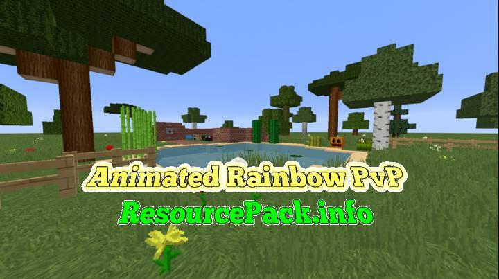 Animated Rainbow PvP 1.15.2
