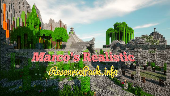 Marco's Realistic 1.16.5