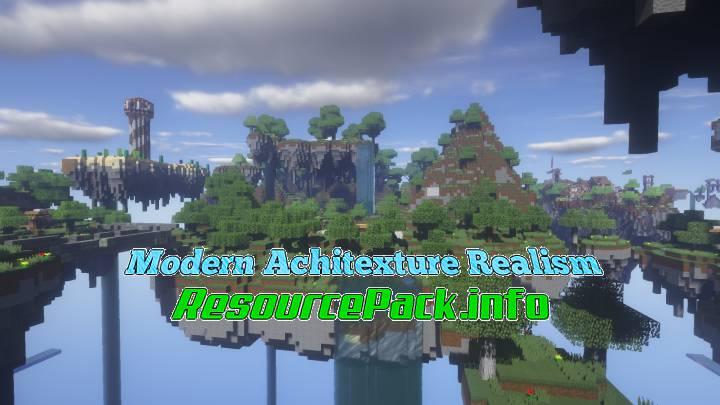 Modern Achitexture Realism 1.16.5