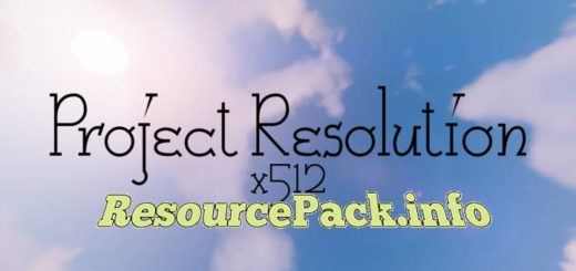 Project Resolution 1.16.4
