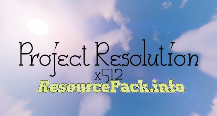 Project Resolution 1.16.5