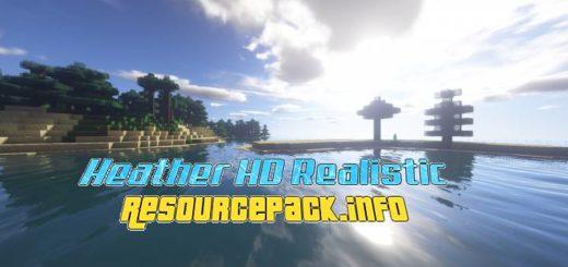 Heather HD Realistic 1.16.5