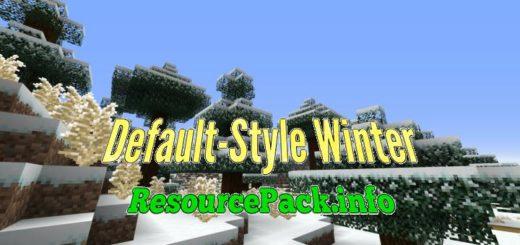 Default-Style Winter 1.16.5