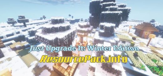 Just Upgrade It Winter Edition 1.15.2
