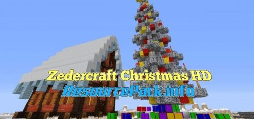 Zedercraft Christmas HD 1.16.5