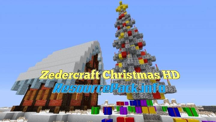 Zedercraft Christmas HD 1.16.5