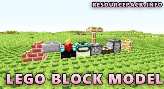 Lego Block Model 1.17.1