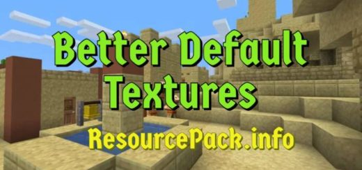 Better Default Textures 1.17.1