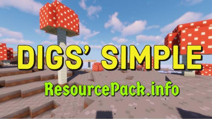 Digs' Simple 1.16.5