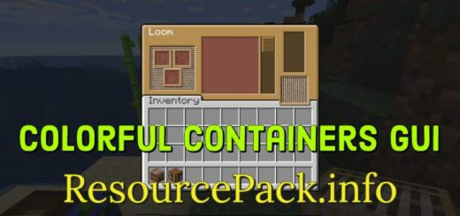 Colorful Containers GUI 1.16.3