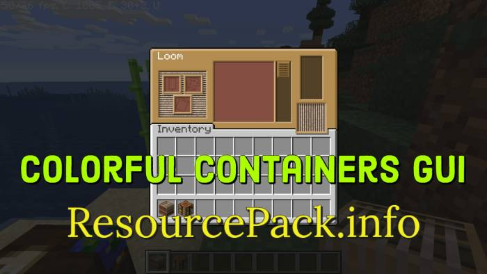 Colorful Containers GUI 1.16.5
