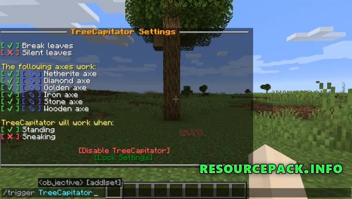 TreeCapitator 1.14.4