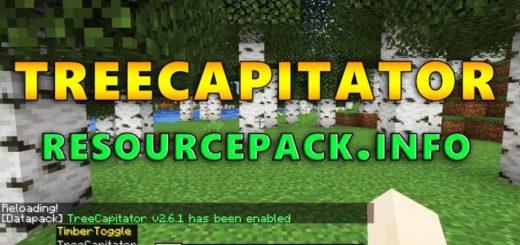 TreeCapitator Datapack 1.17.1