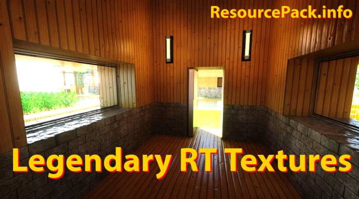 LEGENDARY RT TEXTURES 1.16.5