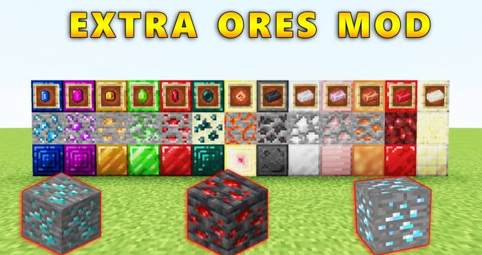 Extra Ores Mod 1.17